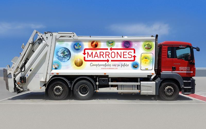 Nueva imagen de los camiones